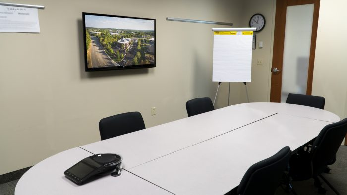 View of Meeting Rooms 106 and 113